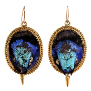 Bird earrings sold by Bell and Bird on 1stdibs