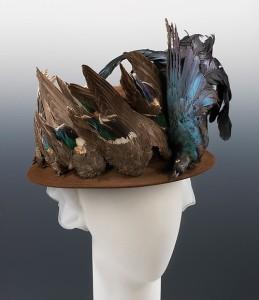 Hat with birds, Metropolitan Museum of Art