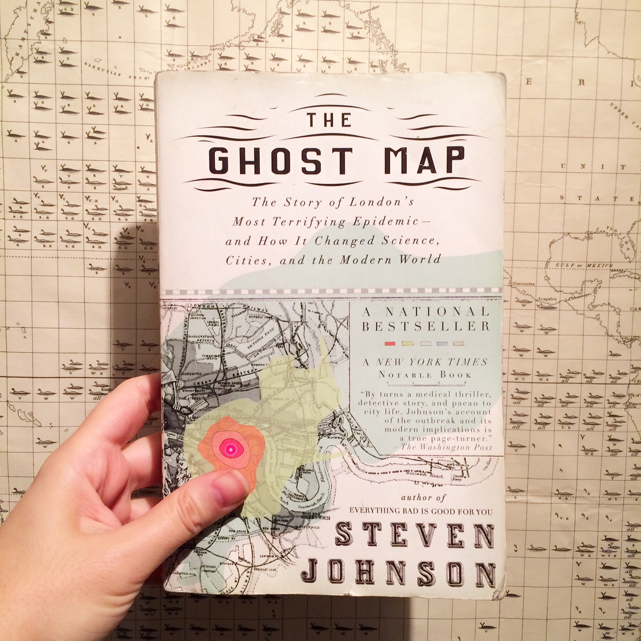 Book Review: The Ghost Map – 19th Century Ghosts on