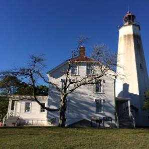 Sandy Hook Fort Hancock Lighthouse