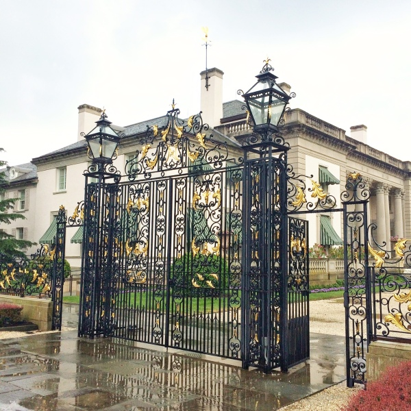 Nemours estate front gate