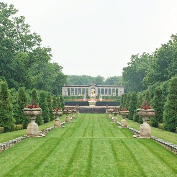 Nemours estate garden