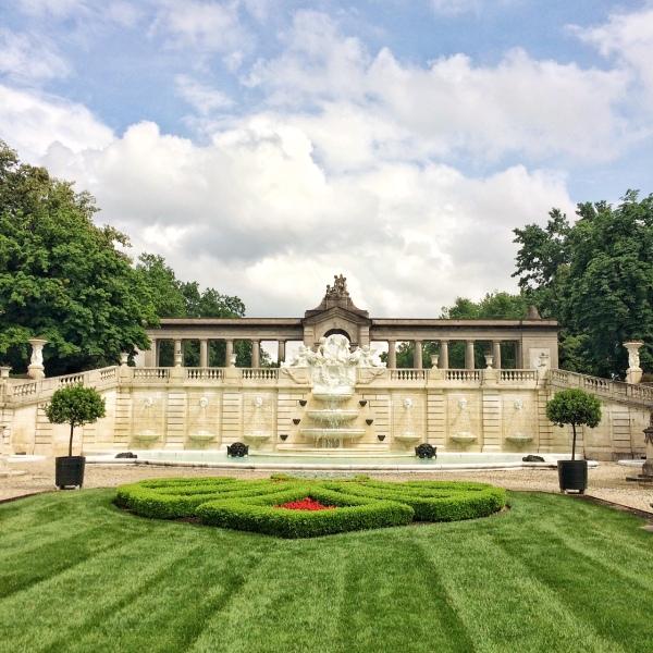 Nemours estate garden2