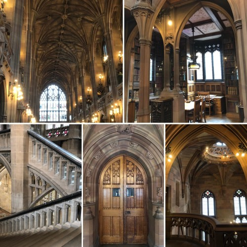 The John Rylands Library in Manchester, UK